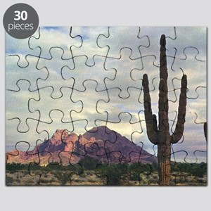 Camelback Mountain in 1955 Puzzle