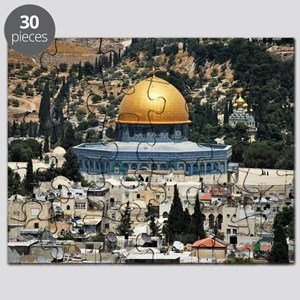 Dome of the Rock, Temple Mount, Jerusalem,  Puzzle