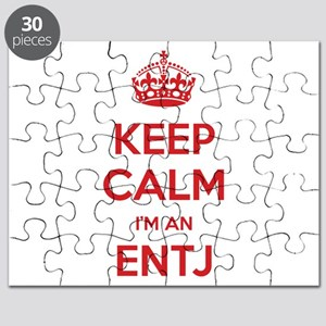Keep Calm I'm An ENTJ Puzzle