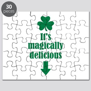 It's magically delicious shamrock Puzzle