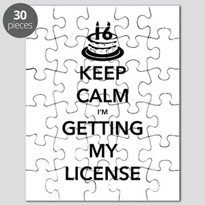 Keep Calm Sweet 16 Puzzle
