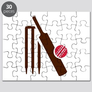 Cricket bat stumps Puzzle