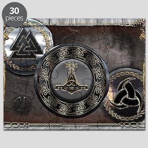 Vikings Shields Puzzle