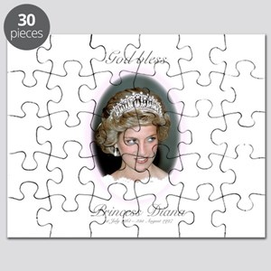 God Bless Princess Diana Puzzle