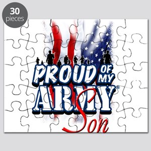 Proud of My Army Son Puzzle