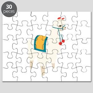 Alpaca Animal Puzzle