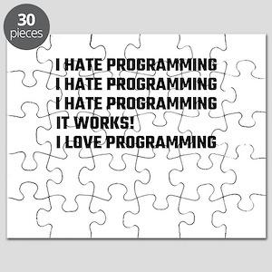 I Love Programming Puzzle