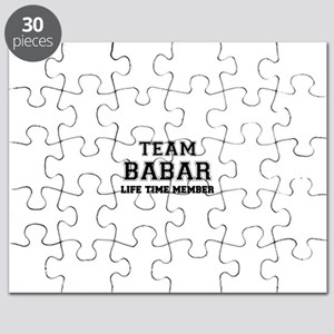 Team BABAR, life time member Puzzle