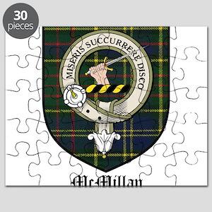 McMillan Clan Crest Tartan Puzzle