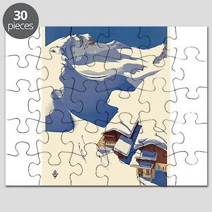Vintage poster - Austria Puzzle