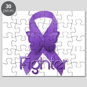 Purple Ribbon: Fighter Puzzle