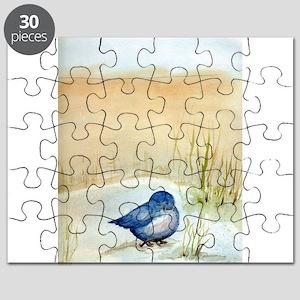 Blue Bird Puzzle