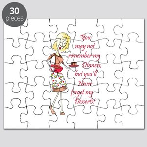 NEVER FORGET MY DESSERTS Puzzle