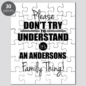 Custom Family Thing Puzzle