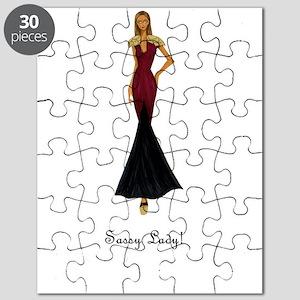 Sassy Lady! Puzzle