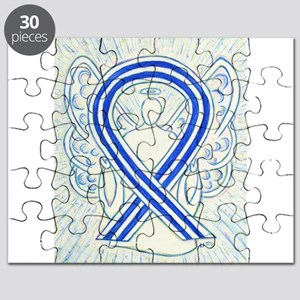 ALS Awareness Ribbon Angel Puzzle