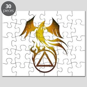 A.A. Logo Phoenix - Puzzle