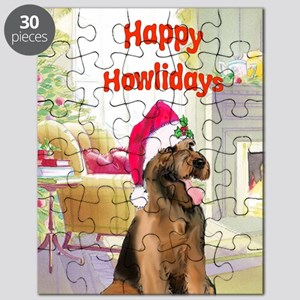2-airedale card Puzzle
