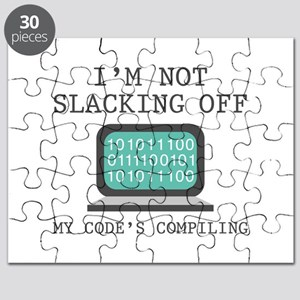 I'm Not Slacking Off Puzzle