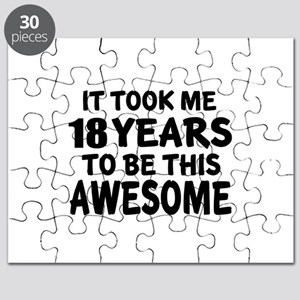 18 Years To Be This Awesome Puzzle