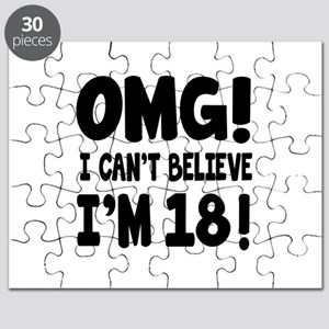 Omg I Can't Believe I Am 18 Puzzle