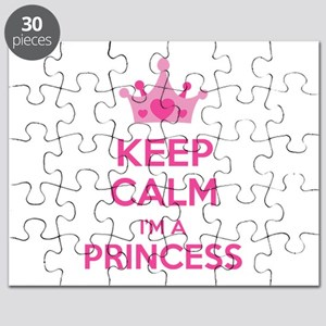 Keep calm I'm a princess Puzzle