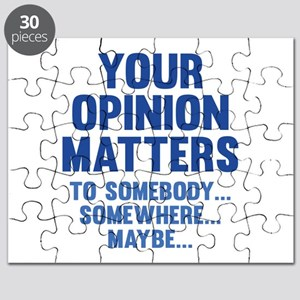 Your Opinion Matters Puzzle