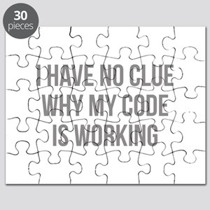 I Have No Clue Why My Code Is Working Puzzle