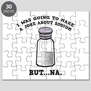 A Joke About Sodium Puzzle