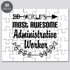 World's Most Awesome Administrative Worker Puzzle