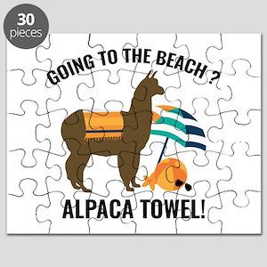Alpaca Towel Puzzle