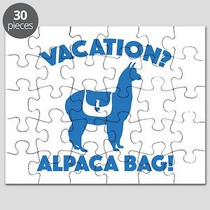 Vacation? Alpaca Bag! Puzzle