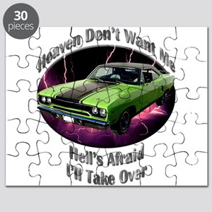 Plymouth Roadrunner Puzzle