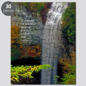 Waterfall Blessings Puzzle