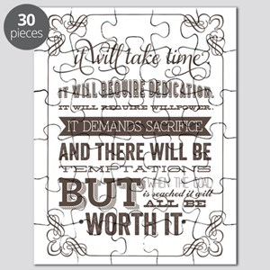 worth it quote Puzzle