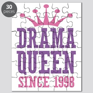 Drama Queen Since 1998 Puzzle