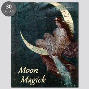 The Fairy of the Moon by Hermann Kaulbach Puzzle