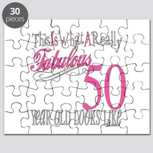 50th Birthday Gifts Puzzle