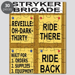Army-172nd-Stryker-Bde-Humor-Poster-5 Puzzle