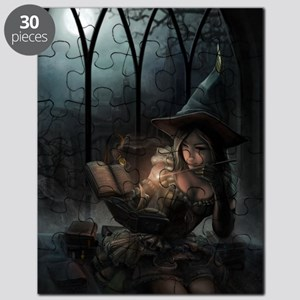 witchpretty_mini poster_12x18-fullbleed Puzzle