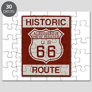 Albuquerque Route 66 Puzzle