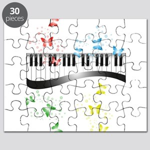 Butterfly piano music Puzzle