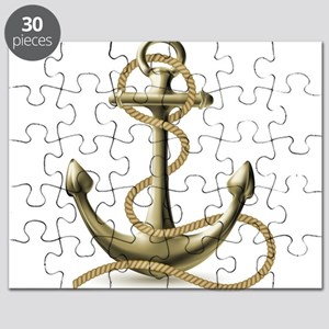 Gold Anchor Puzzle