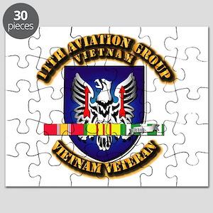 Army - 11th Aviation Gp w Vietnam SVC Ribbons Puzz