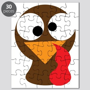 Turkey Face, Gobble Gobble Gobble Funny But Puzzle