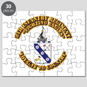 COA - 8th Infantry Regiment Puzzle