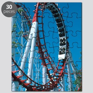 Loop section of a rollercoaster ride Puzzle
