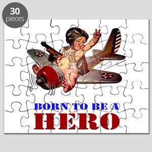 BORN TO BE A HERO Puzzle