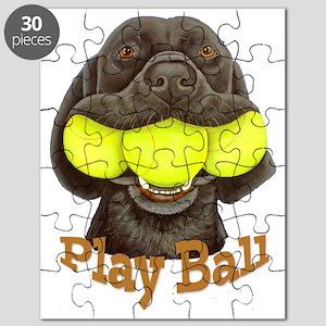 Play Ball, Labrador with Tennis Balls Puzzle