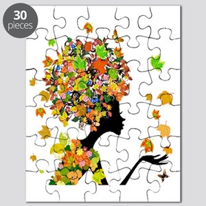 Flower Power Lady Puzzle